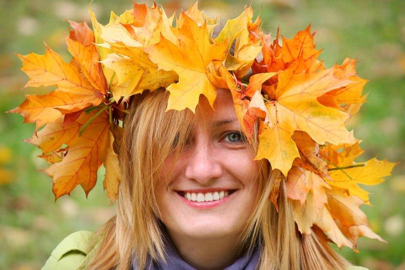 Осени дарю улыбку, © Михаил Родионов, Москва, Фотоконкурс «Осень в городе»