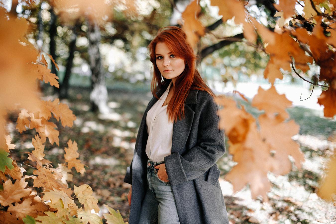 Прогулка, © Masha May, Фотоконкурс «Осенний портрет»