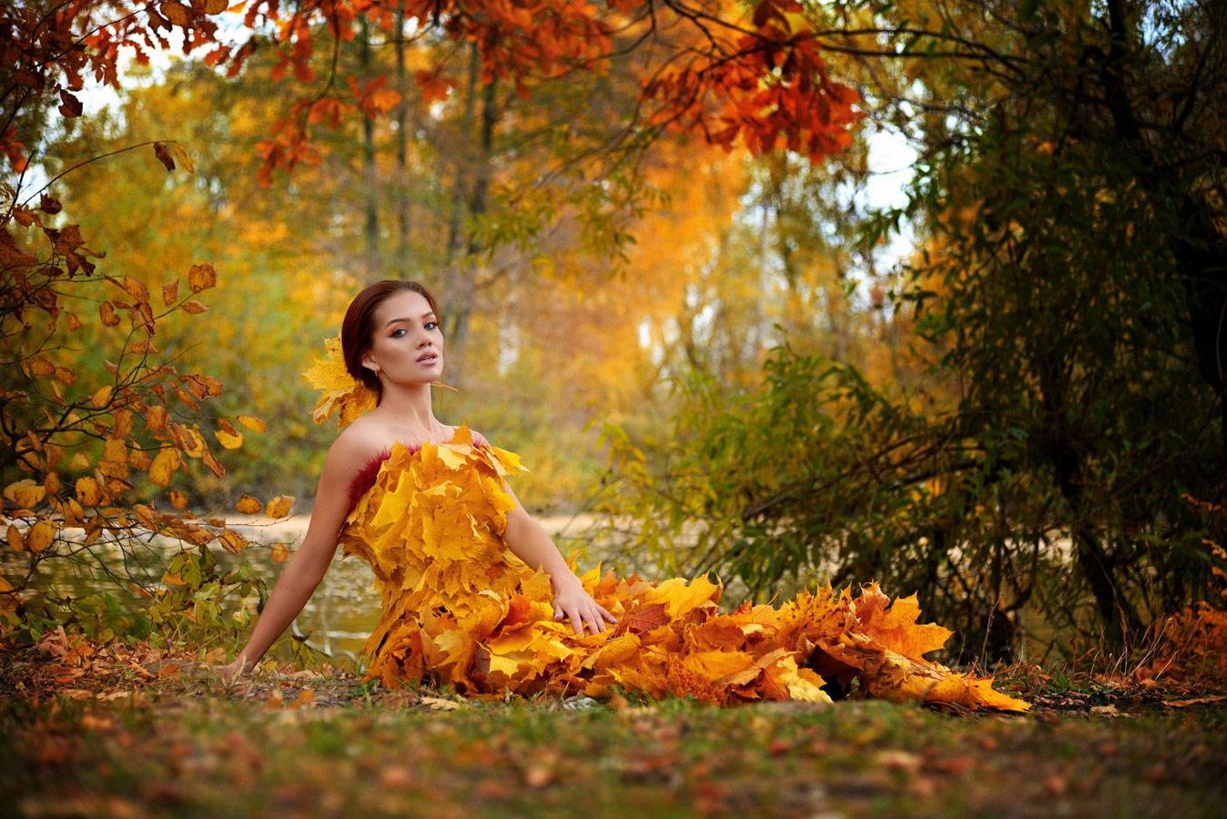 Октябрь, © Оксана Астрова, Фотоконкурс «Осенний портрет»