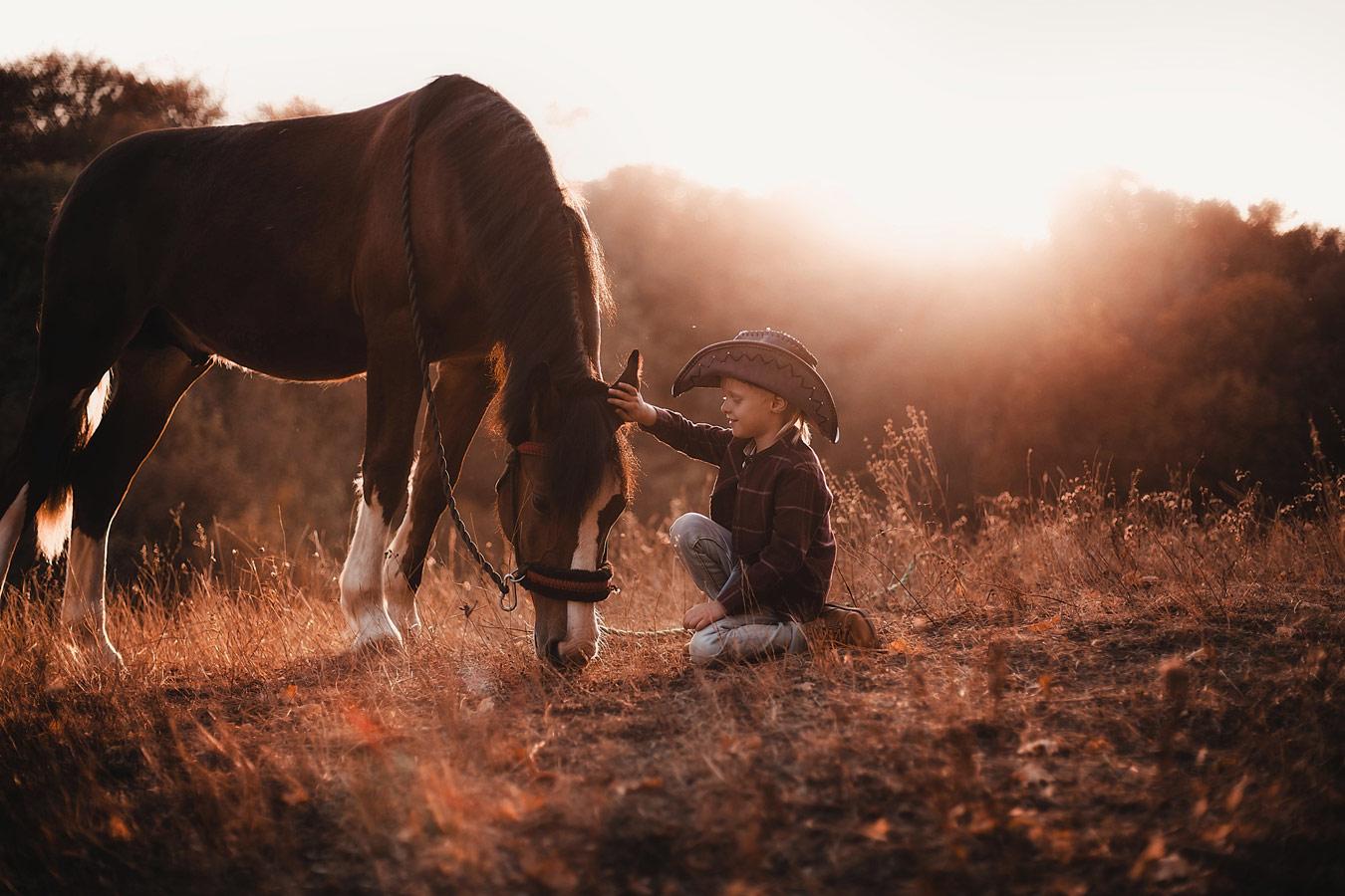 Лошади — это целый мир, © Виктория Мищенко, Фотоконкурс «Осенний портрет»