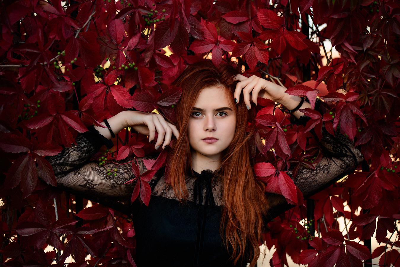 Лоза, © Роман Кучинский, Фотоконкурс «Осенний портрет»