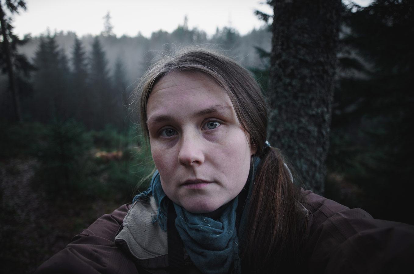 Пережить ноябрь (автопортрет), © Дарья Олыкайнен, Фотоконкурс «Осенний портрет»