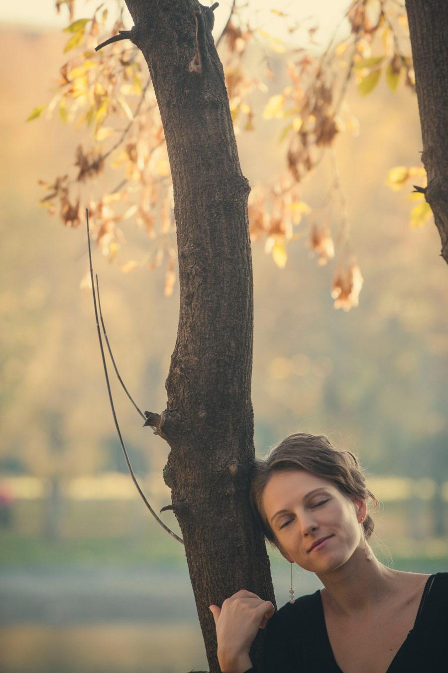 Влюбленная в осень, © Анастасия, Фотоконкурс «Осенний портрет»