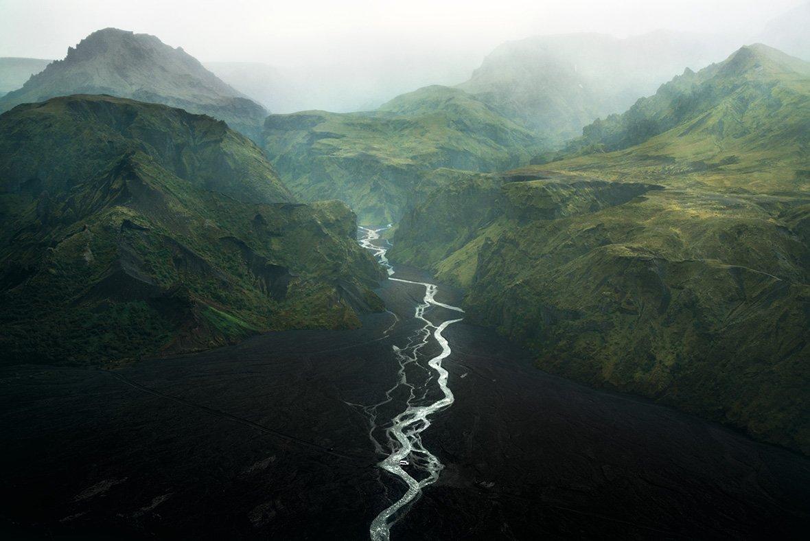 Торсмёрк (долина Тор), Исландия, © Витольд Зиомек / Witold Ziomek, Польша, Победитель категории «На краю воды», Фотоконкурс Outdoor Photographer of the Year