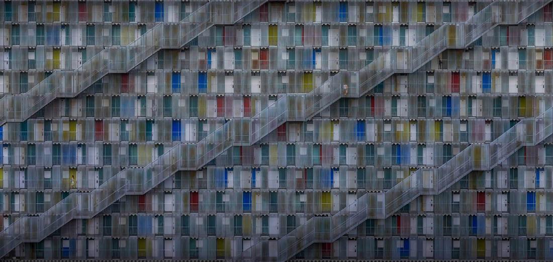 Жизнь в комплексе, Гифу, Япония, © Даниэль Эйзель, Германия, Победитель Открытой Премии - Искусственная среда / Архитектура, Конкурс панорамной фотографии EPSON Pano Awards