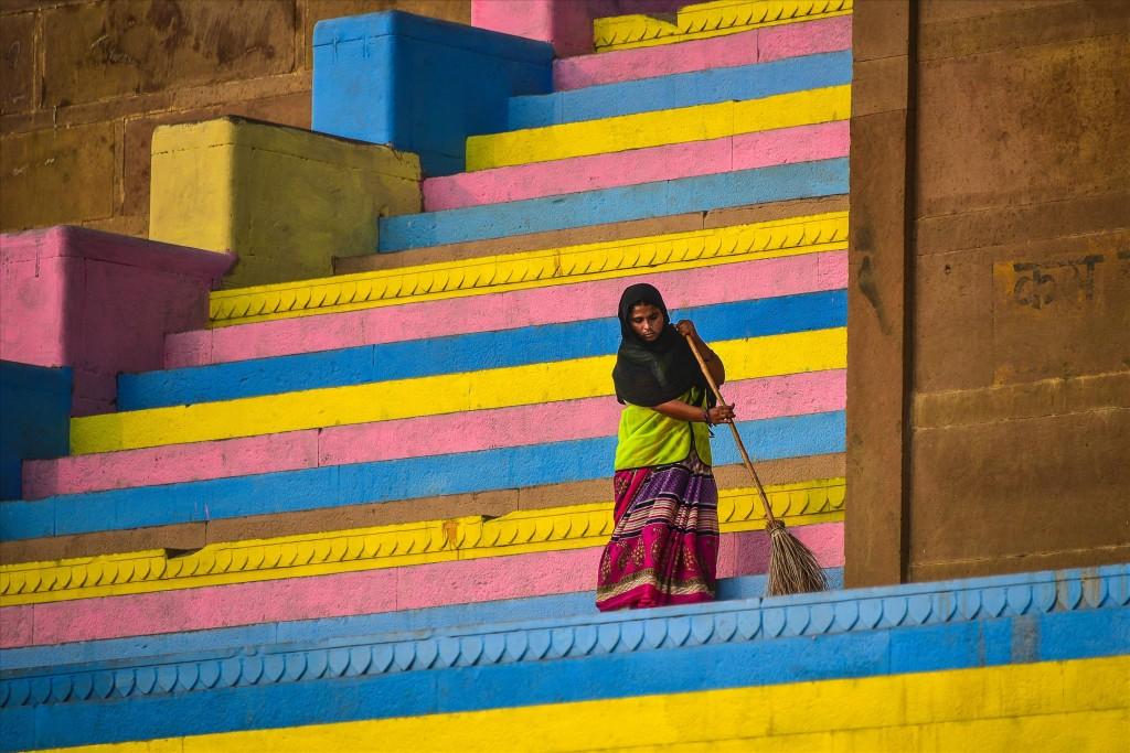 Красочная чистка, © Евгений Самученко, Победители прошедшего фотоконкурса «Узоры» от Photographic Angle