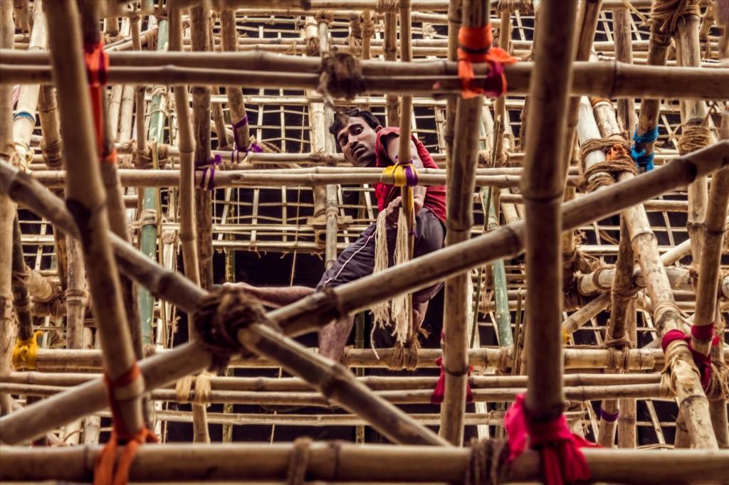 Времянка, © Гутэм Рой, Победители прошедшего фотоконкурса «Узоры» от Photographic Angle