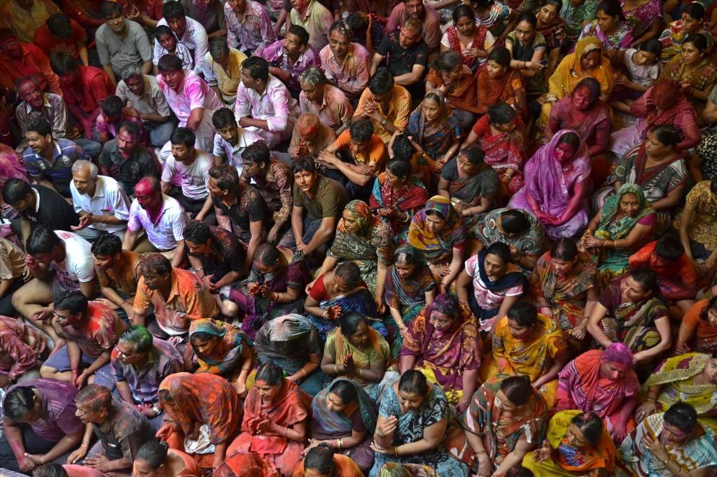 Холи, © Бидют Госвами, Победители прошедшего фотоконкурса «Узоры» от Photographic Angle