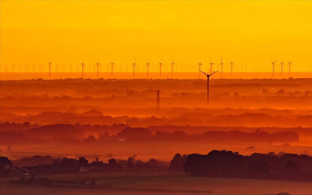 Ветер и солнце, Биллинг-Хилл, © Ян Боннелл, Победители прошедшего фотоконкурса «Узоры» от Photographic Angle