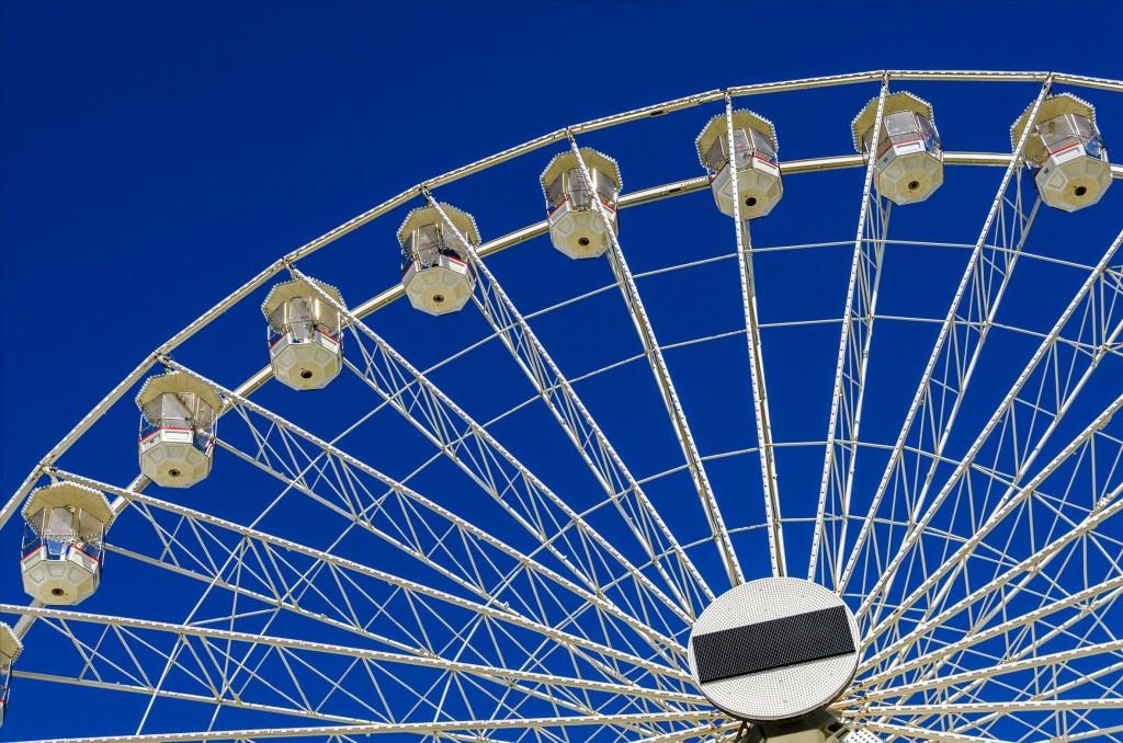 Колесо обозрения, © Ян Кук, Победители прошедшего фотоконкурса «Узоры» от Photographic Angle