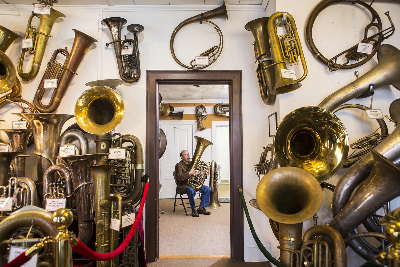 Основатель Музея труб, © Алекс Боернер, Дарем, США, Профессионал: Коммерческая / Редакционная, Конкурс портретной фотографии «Лица»
