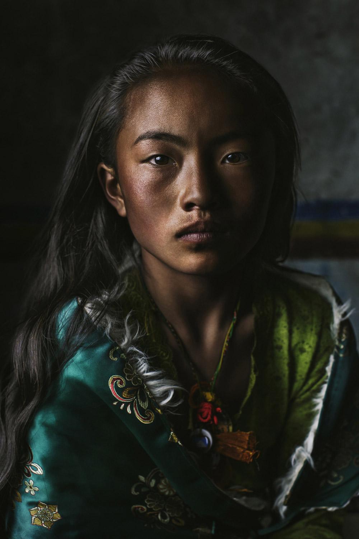 Чодрон, Тибет, 2017, © Эми Ло, Вест Хиллс, США, Первое место в категории «Профессионал: Персональная работа», Конкурс портретной фотографии «Лица»