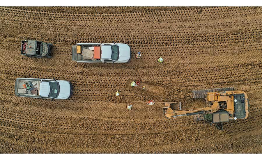 Проект водохранилища Нижний Буа-Д'Арк, Хани-Гроув, Техас