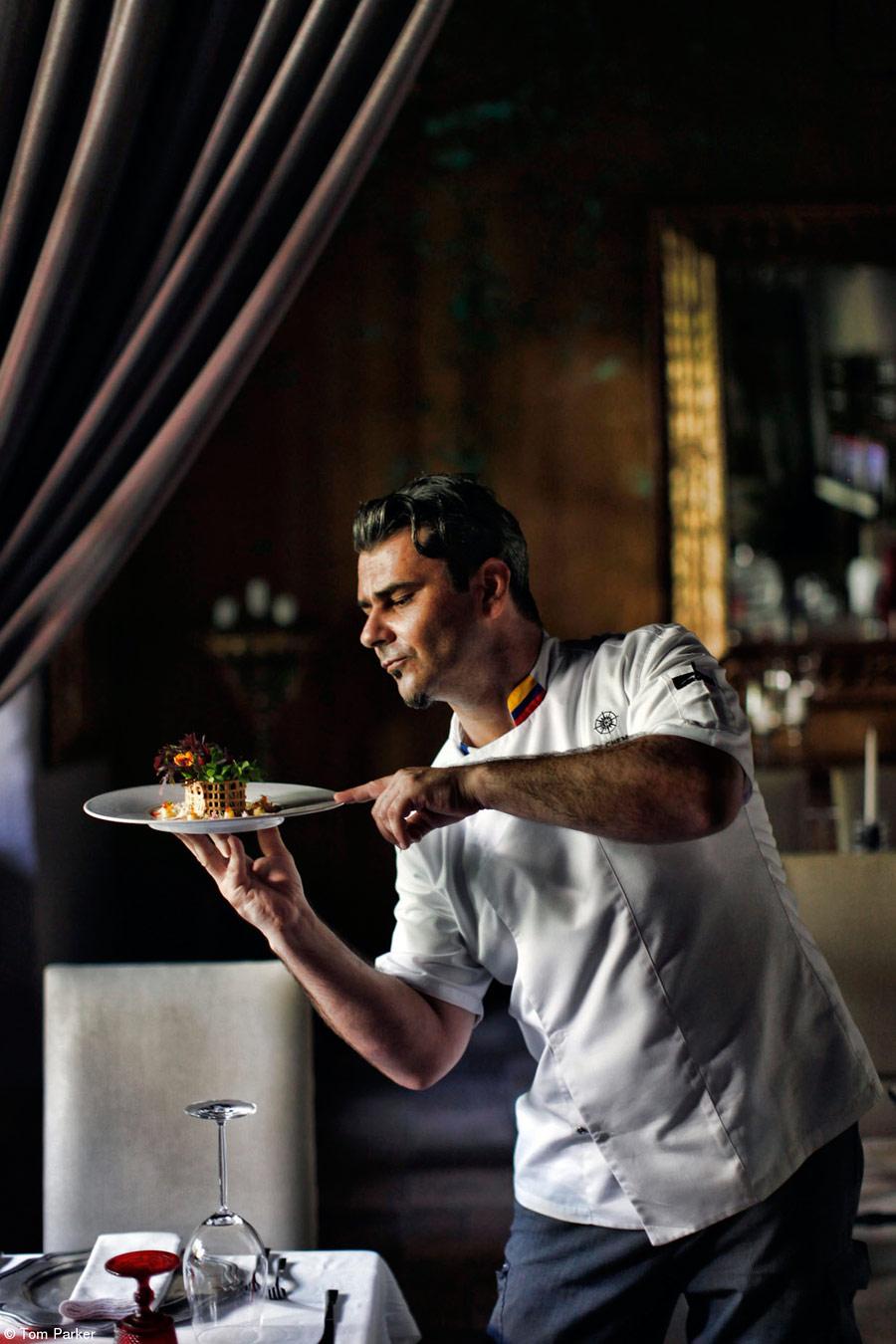 Прекрасная обеденная Колумбия, © Том Паркер, Великобритания, 1-е место, категория «Интернациональная еда за столом», Фотоконкурс Pink Lady Food