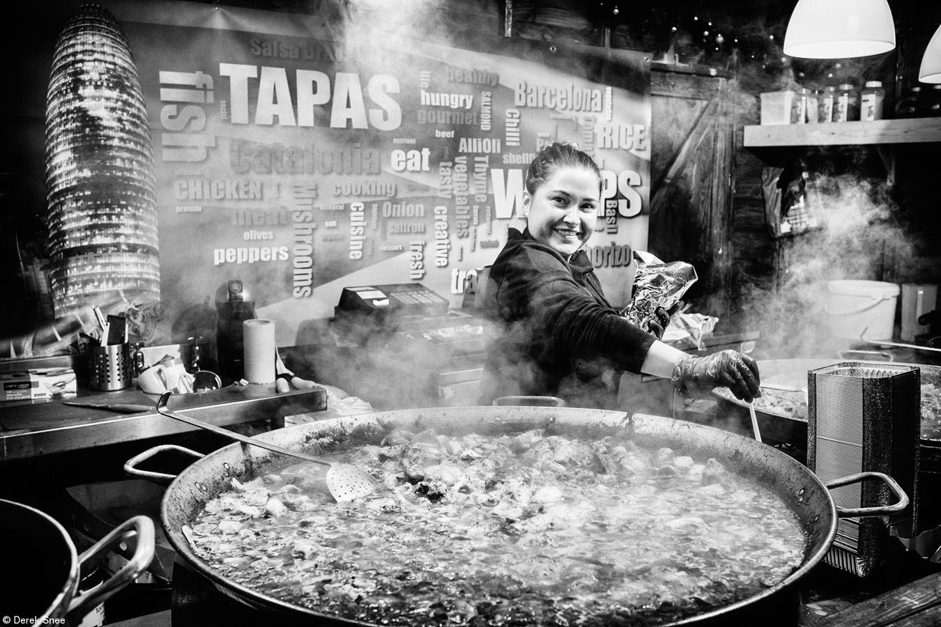 Тапас-Апон-Тайн, © Дерек Снеи, Великобритания, 1-е место, категория «Фуд-приключения», Marks & Spencer» (британские фестивали), Фотоконкурс Pink Lady Food