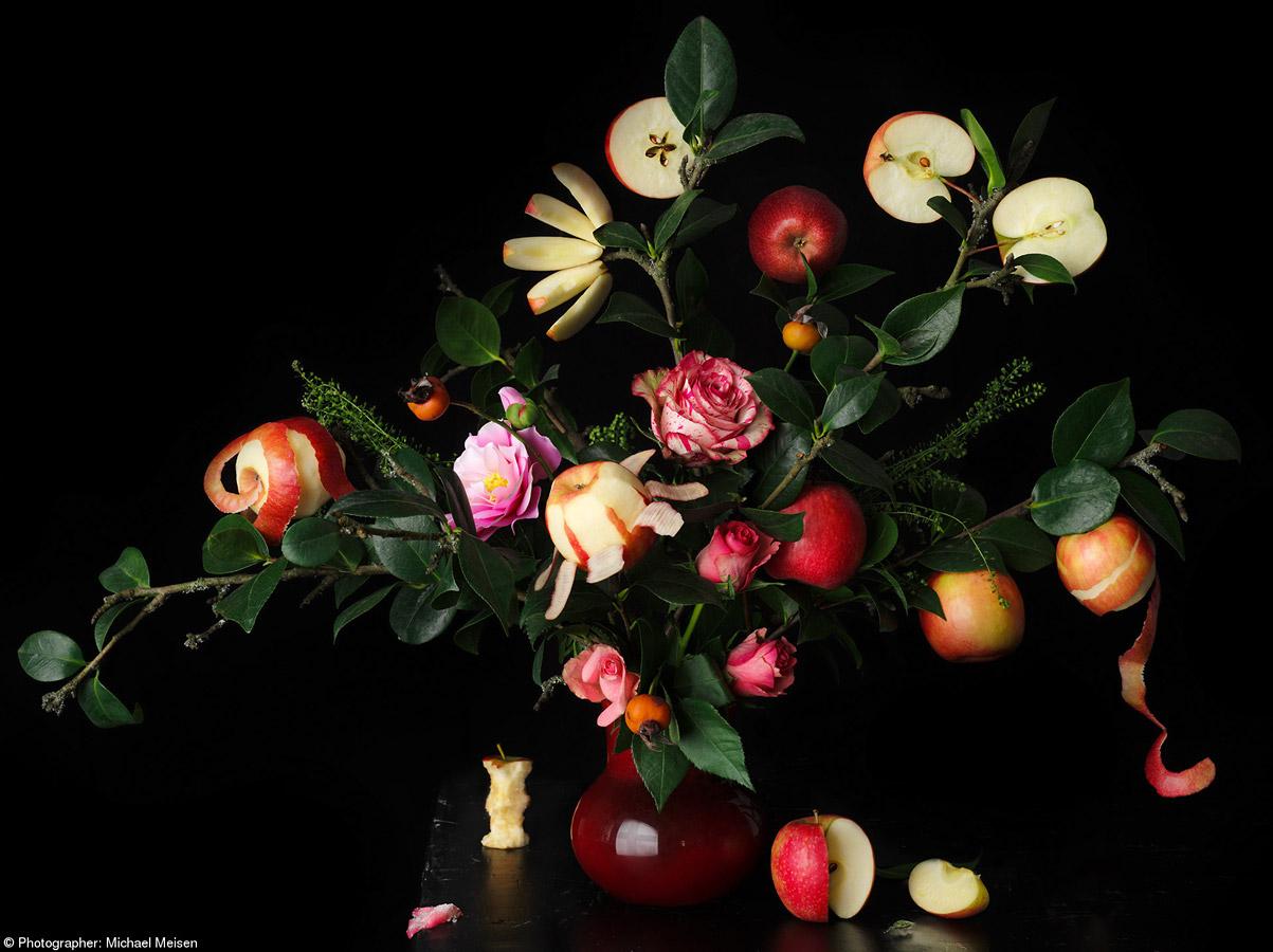 Искусство быть яблоком, © Майкл Мейсен, Германия, 1-е место, категория «Яблоко Pink Lady®», Фотоконкурс Pink Lady Food