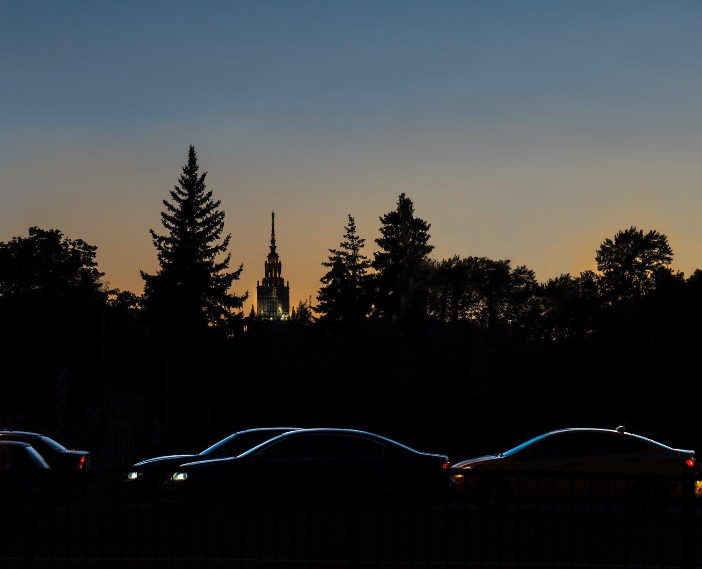 По волнам мегаполиса, © Ашот Григорян, 2 место в номинации «Динамика мегаполиса», Фотоконкурс «Планета Москва»