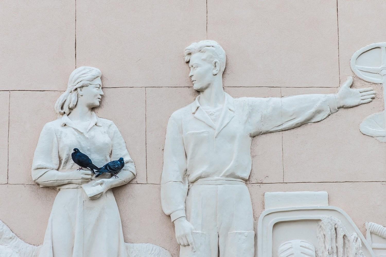 Голуби, © Руслан Тохтиев, 3 место в номинации «Архитектура», Фотоконкурс «Планета Москва»