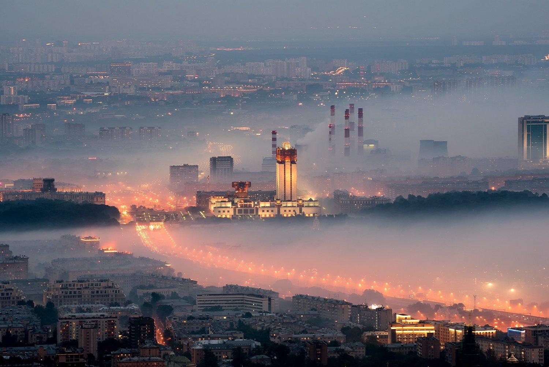 Млечный путь, © Татьяна Белякова, 2 место в номинации «Пейзаж», Фотоконкурс «Планета Москва»