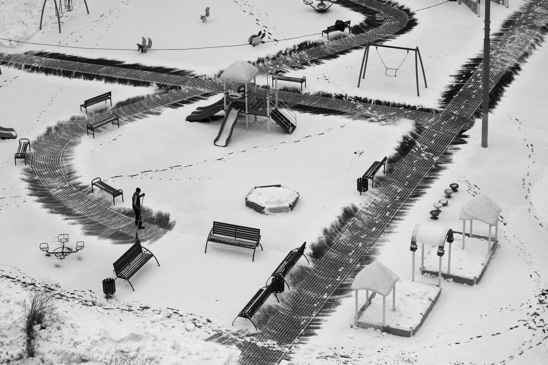 Последний снег, © Александр Байрачный, 1 место в номинации «Москва и москвичи. Комфортный город», Фотоконкурс «Планета Москва»