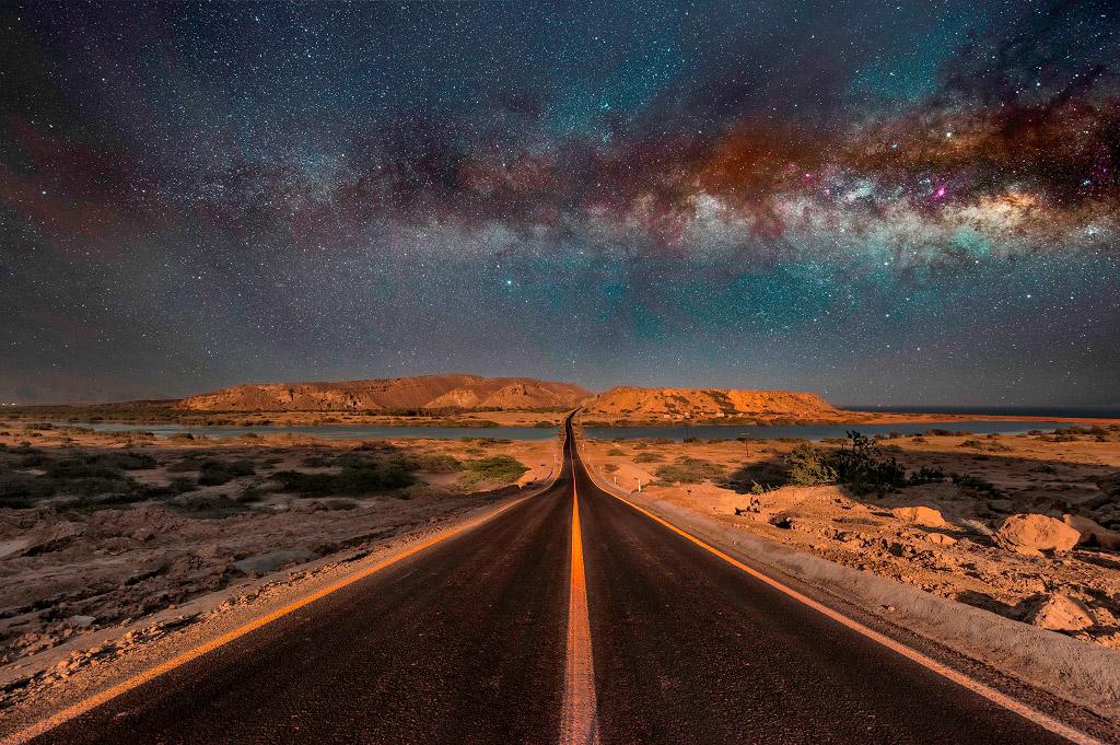 Млечный путь, Иран, © Масуд Гадирифар, Финалист категории «Ночной пейзаж», Фотоконкурс «Ночной пейзаж» — Photo Nightscape Awards