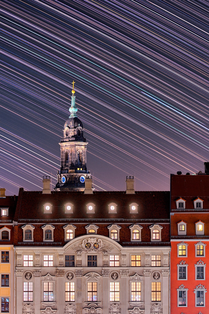 Комната 500, Дрезден, Германия, © Сандро Шмидт, Финалист категории «В городе», Фотоконкурс «Ночной пейзаж» — Photo Nightscape Awards
