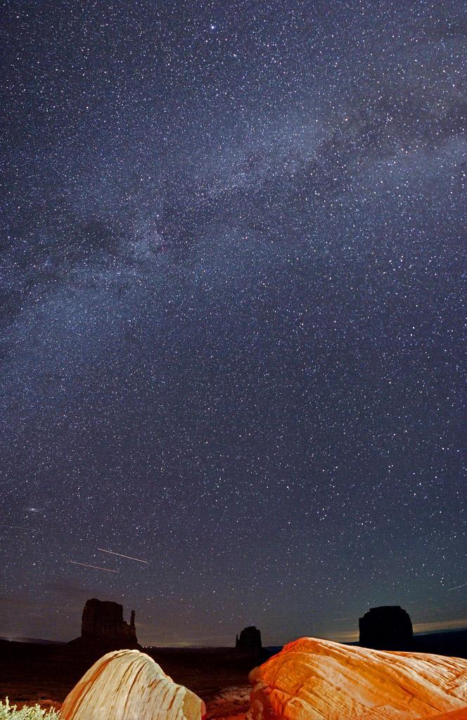 Млечный путь в Навахос, США, © Луи-Хадриен Грос, Финалист категории «Молодёжная», Фотоконкурс «Ночной пейзаж» — Photo Nightscape Awards