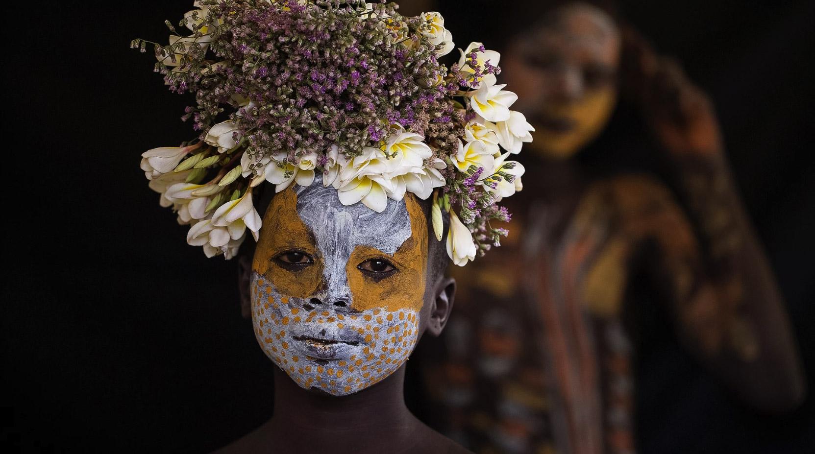 Цветы Эфиопии, © Робин Янг / Robin Young, Поощрительная премия, Фотоконкурс «Портреты» — Portraits – Hellerau Photography Award
