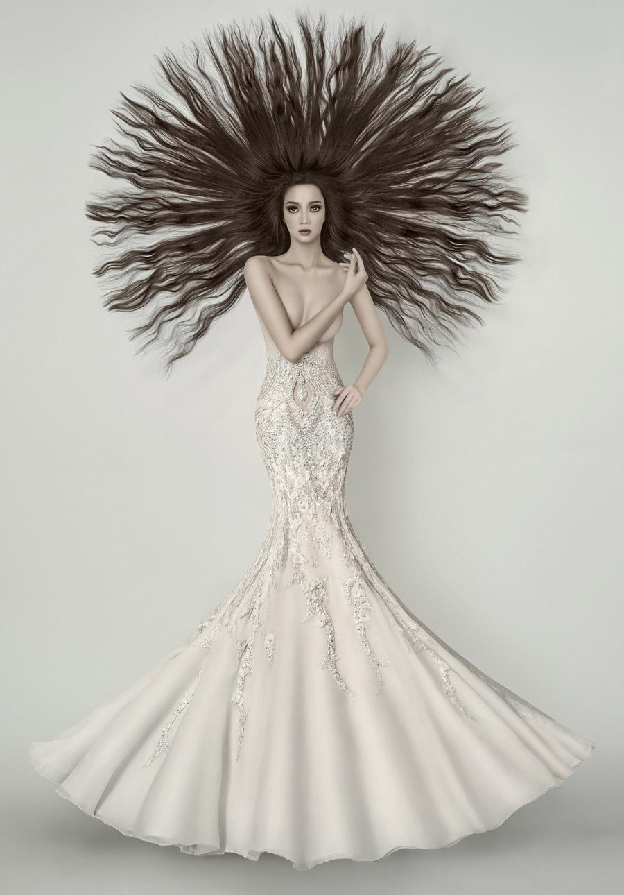 Девственница невеста, © Эрих Капарас, Ривервью, Категория «Монтаж», Фотоконкурс «Художественная фотография» — Fine Art