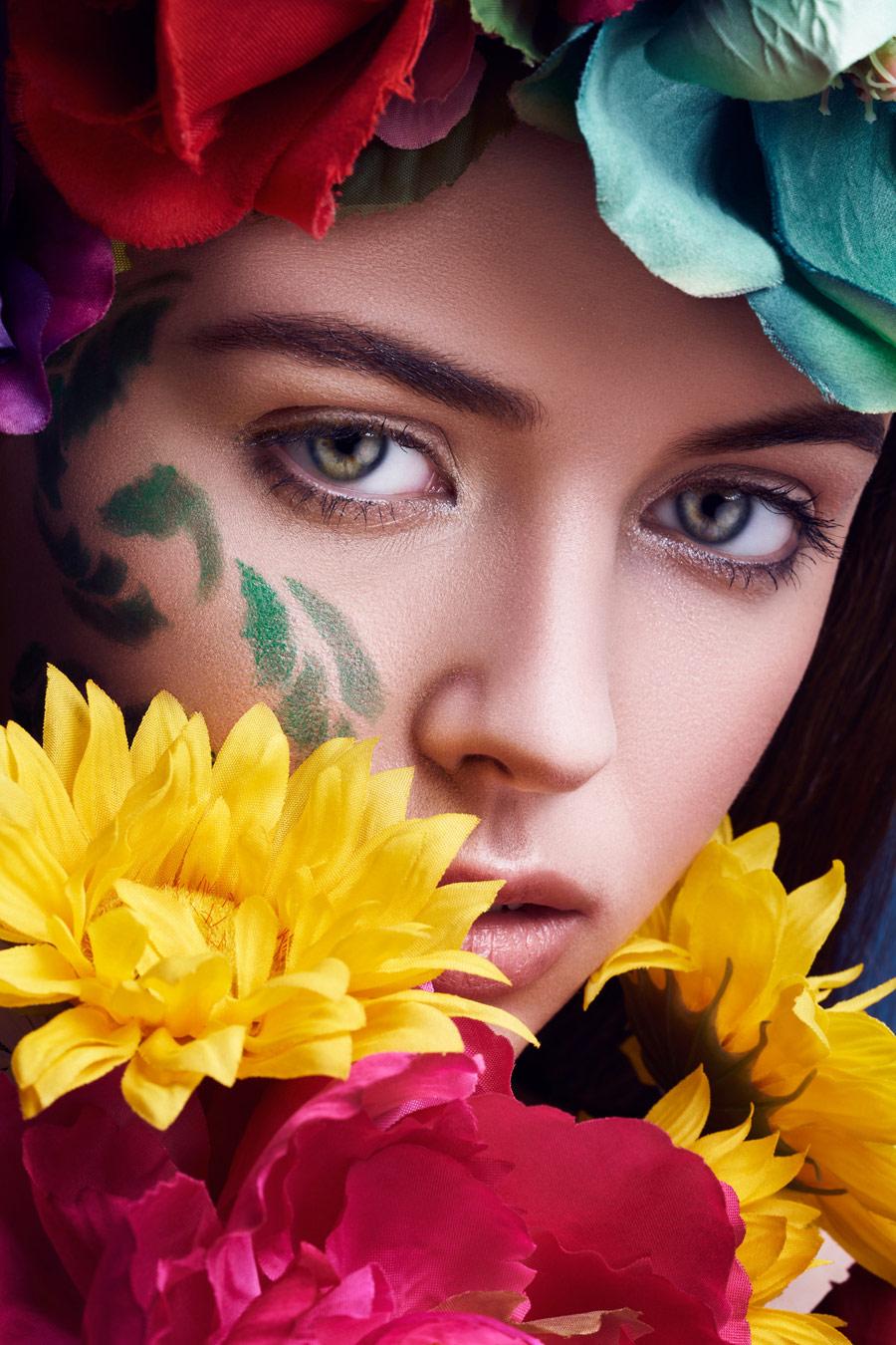 Дочь весны, © Рутвик Катури, Джерси-Сити, Нью-Джерси, США, Призёр категории «Красота / Гламур», Фотоконкурс «Портрет» — The Portrait