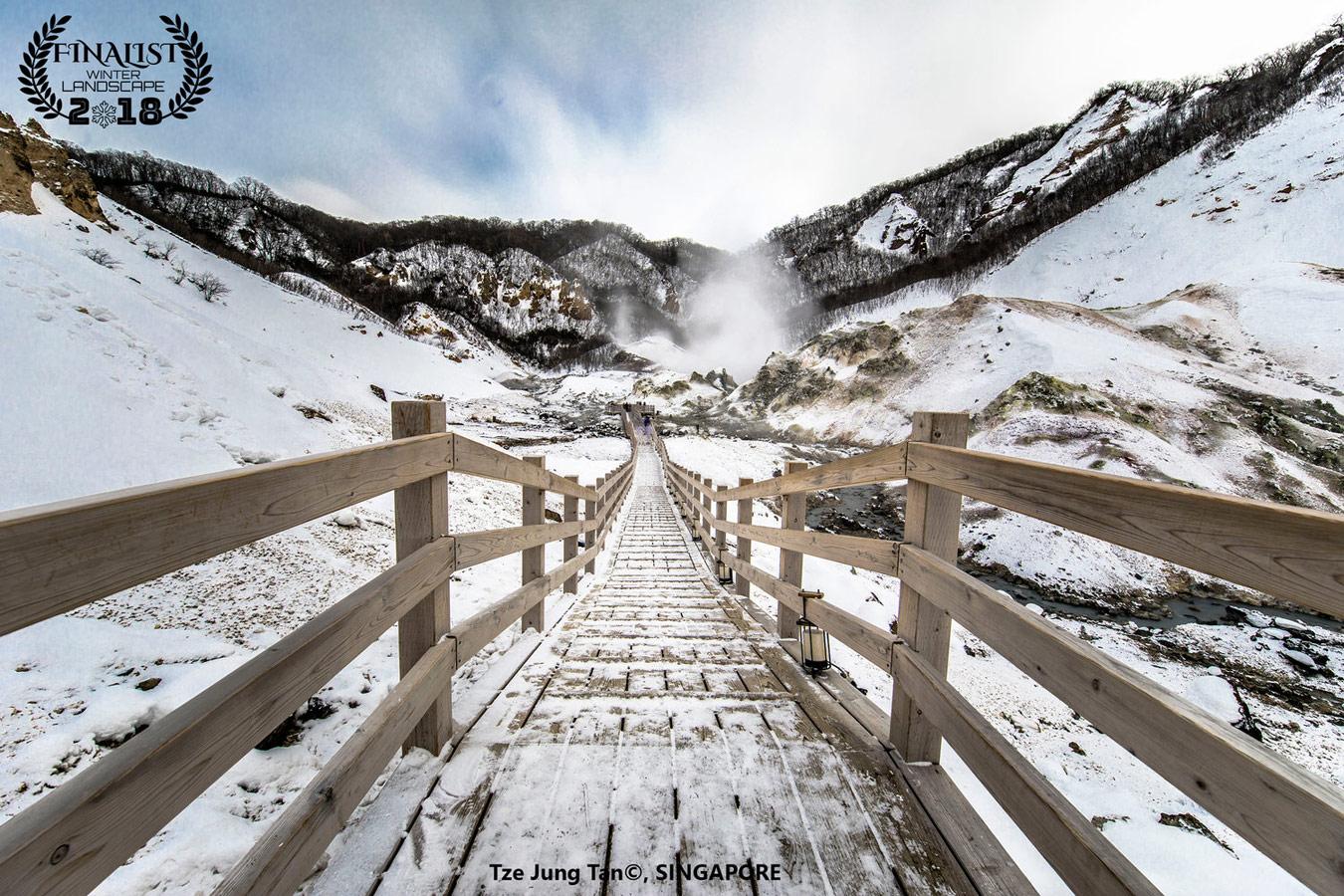 Ноборибецу, Хоккайдо: «Поездка в Адскую долину», © Цзе Юнг Тан, Сингапур, Финалист фестиваля «Зимний пейзаж», Фотоконкурс пейзажа журнала Renner