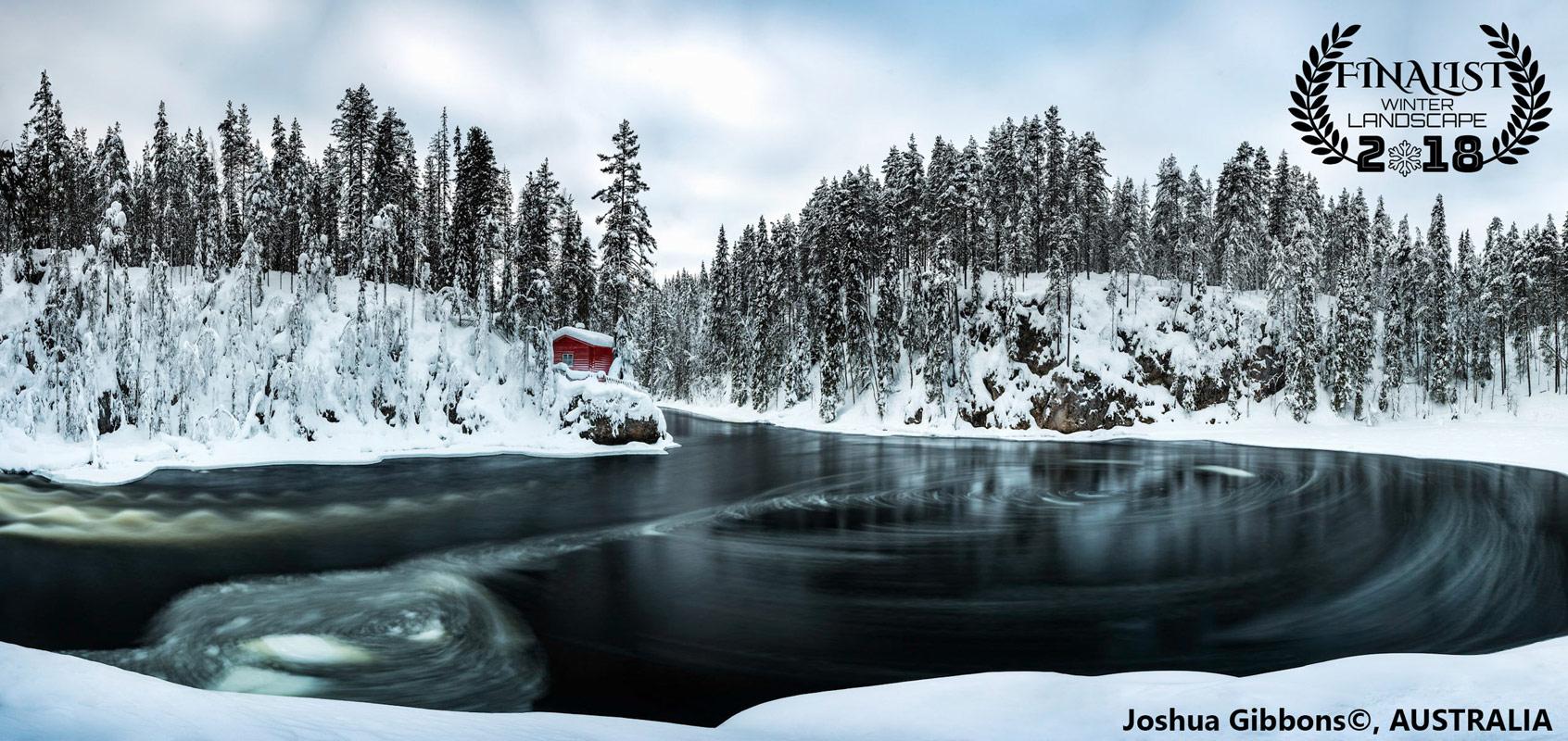 Уединение, © Джошуа Гиббонс, Австралия, Финалист фестиваля «Зимний пейзаж», Фотоконкурс пейзажа журнала Renner