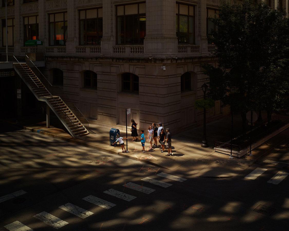 Перекрёсток меланхолии (Хаббард-стрит, Чикаго), © Оли Келлетт, Великобритания, Бронзовая награда, Фотоконкурс RPS International Photography Exhibition (IPE)