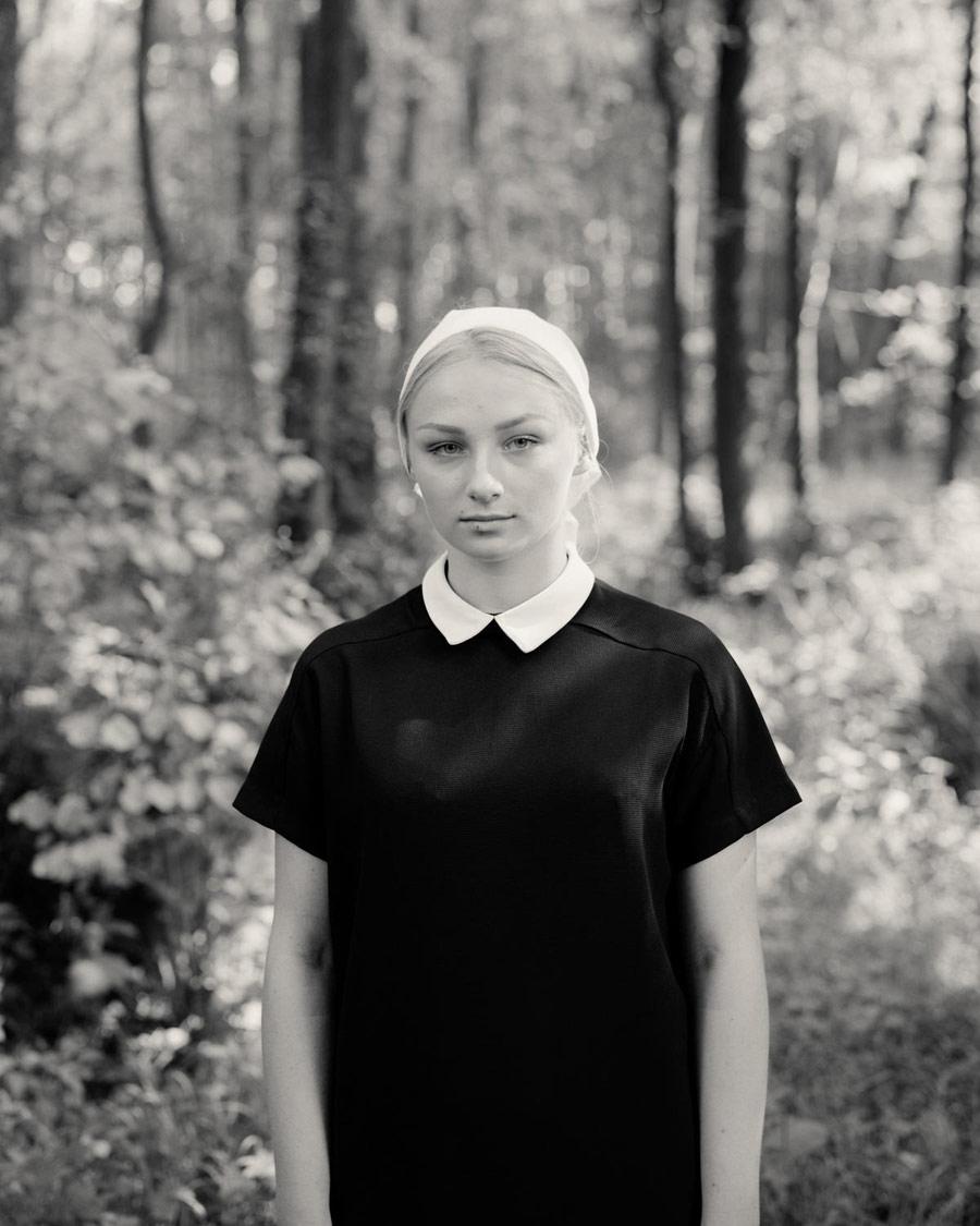 Дарья. Из серии «Обет», © Элис Томлинсон, Великобритания, Серебряная награда, Фотоконкурс RPS International Photography Exhibition (IPE)