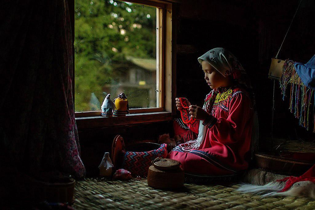 Красавица Хантейка, Ханты-Мансийск, © Кристина Сомова, 3 место, Фотоконкурс «Русская цивилизация»