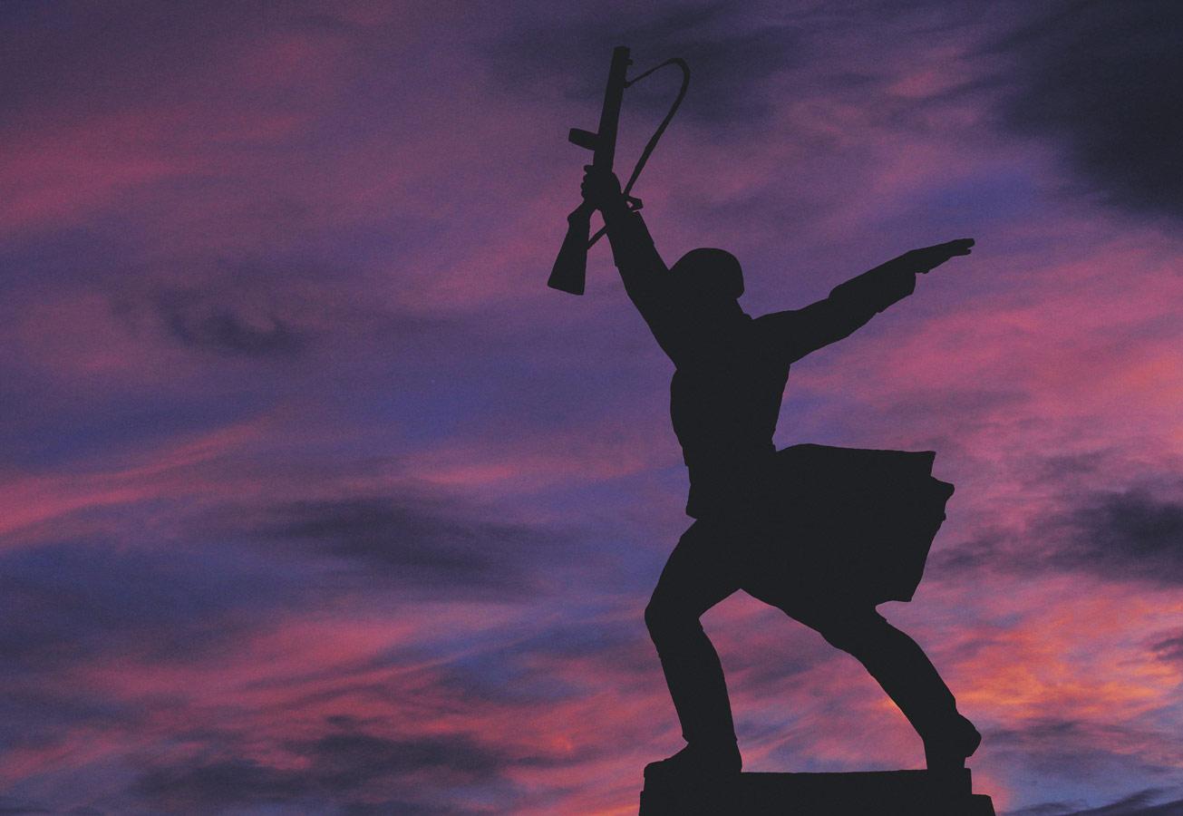 Мемориал «Перемиловская высота», Яхрома, © Руслан Тохтиев, Фотоконкурс «Русская цивилизация»