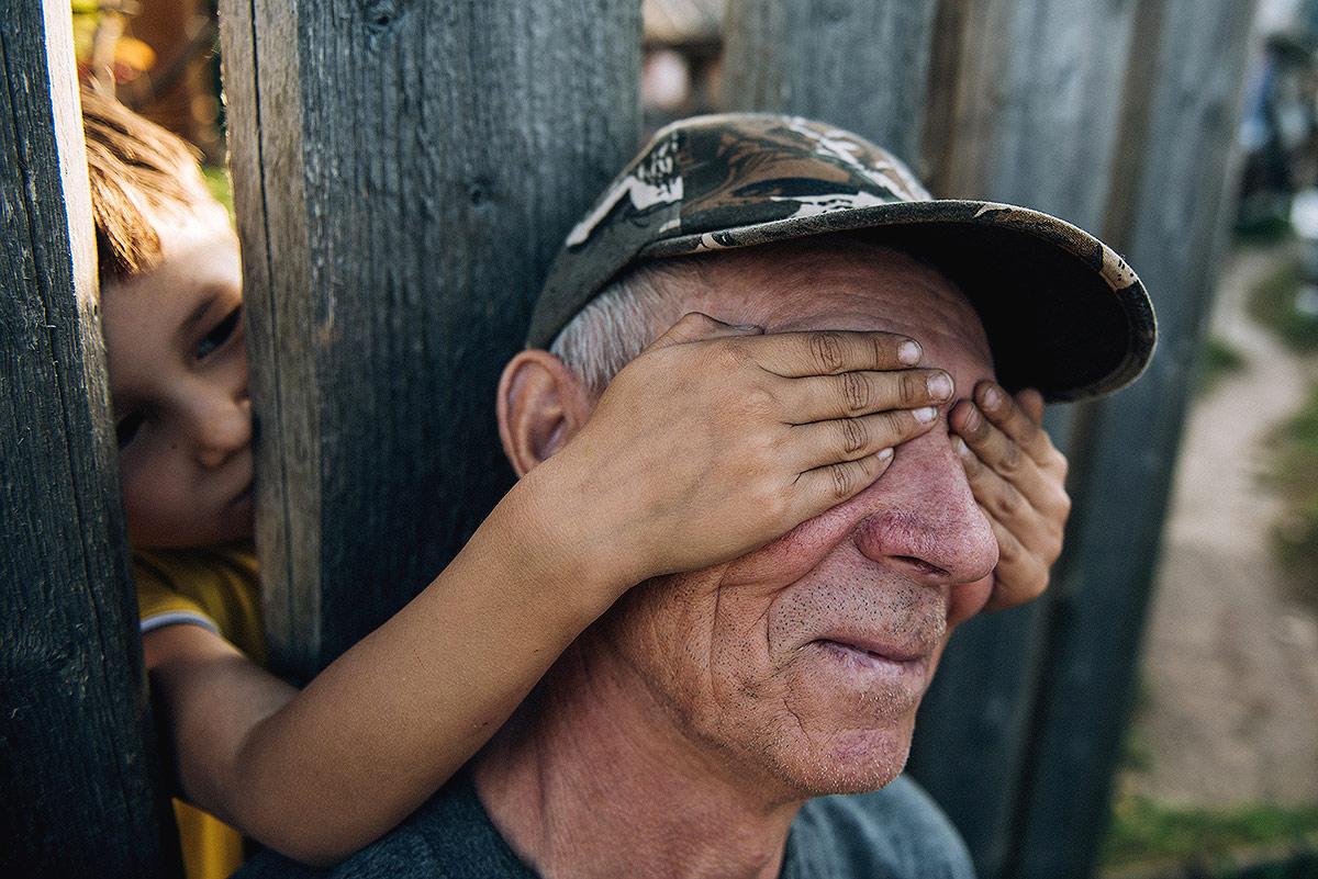 Мой дедушка, Деревня в Татарстане, Арский район, © Рафис Закиров, 1 место, Фотоконкурс «Русская цивилизация»