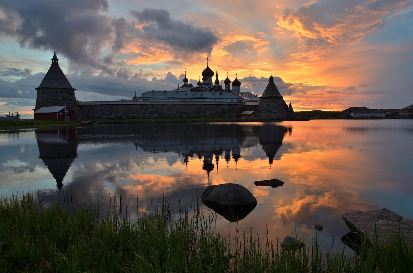 Свет Соловков, © Павел Афанасьев (Большой Соловецкий остров), 2 место, Фотоконкурс «Русская цивилизация»