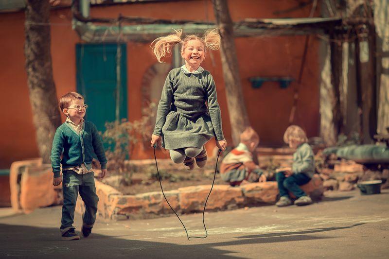 Скакалка, © Марианна Смолина, Победитель в категории «Люди», профессионалб Фотопремия IPA Россия