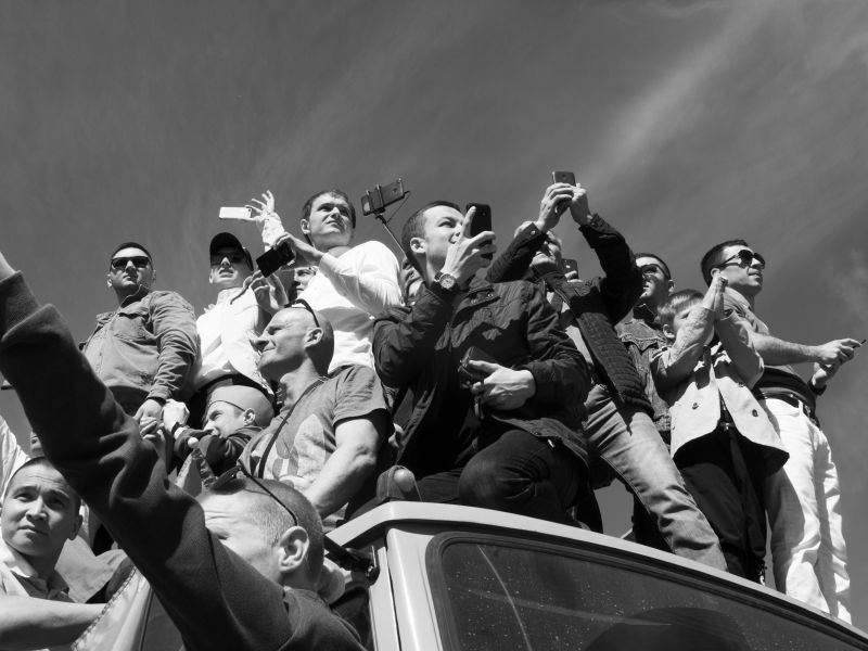 Парад, © Елизавета Улитенко, Победитель в категории «Событие», непрофессионал, Фотопремия IPA Россия