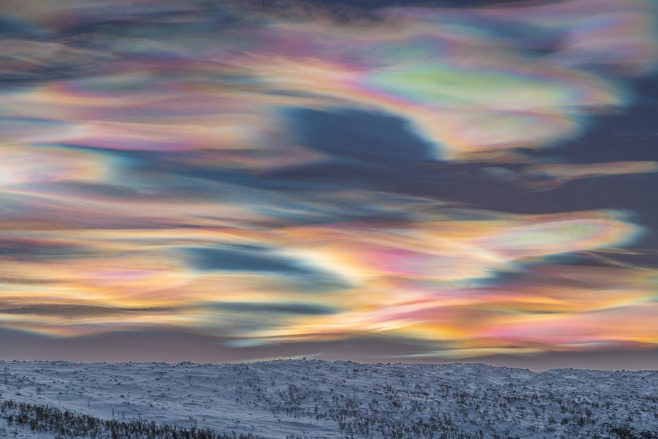 Рисование неба © Томас Каст