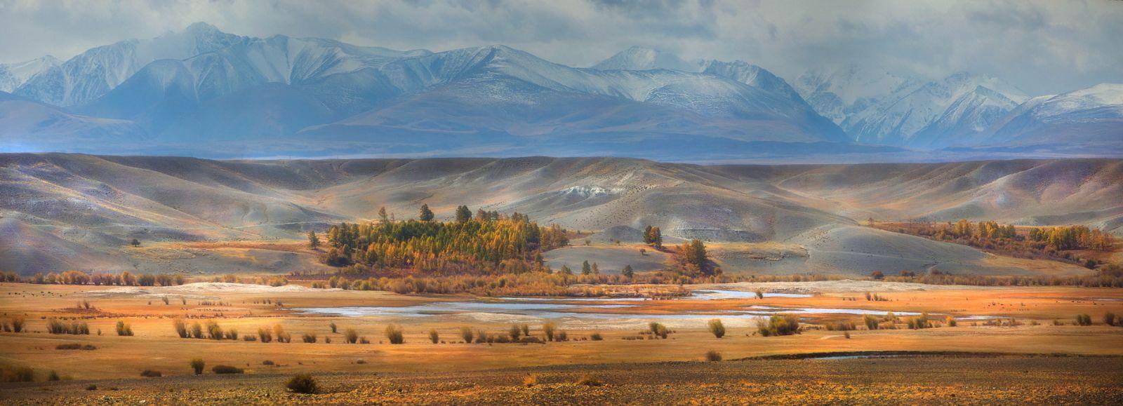 Алтайские просторы!, © Павел Сухоребриков, Финалист фотоконкурса «Самая красивая страна – 2018»