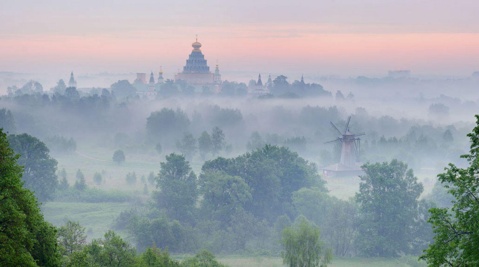 Утро на Истре, © Виления Селиванова, Финалист фотоконкурса «Самая красивая страна – 2018»