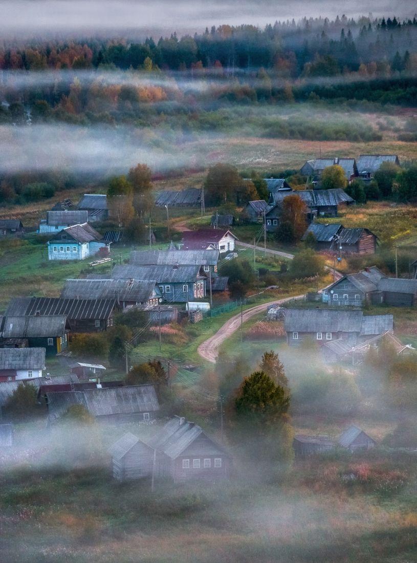 Вепсская деревня, © Фёдор Лашков, Финалист фотоконкурса «Самая красивая страна – 2018»