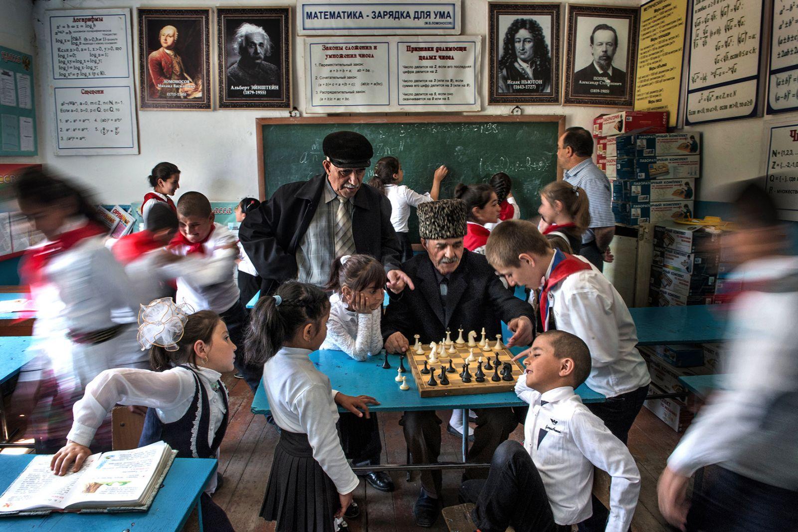 Перемена на уроке математики, © Владимир Вяткин, Финалист фотоконкурса «Самая красивая страна – 2018»