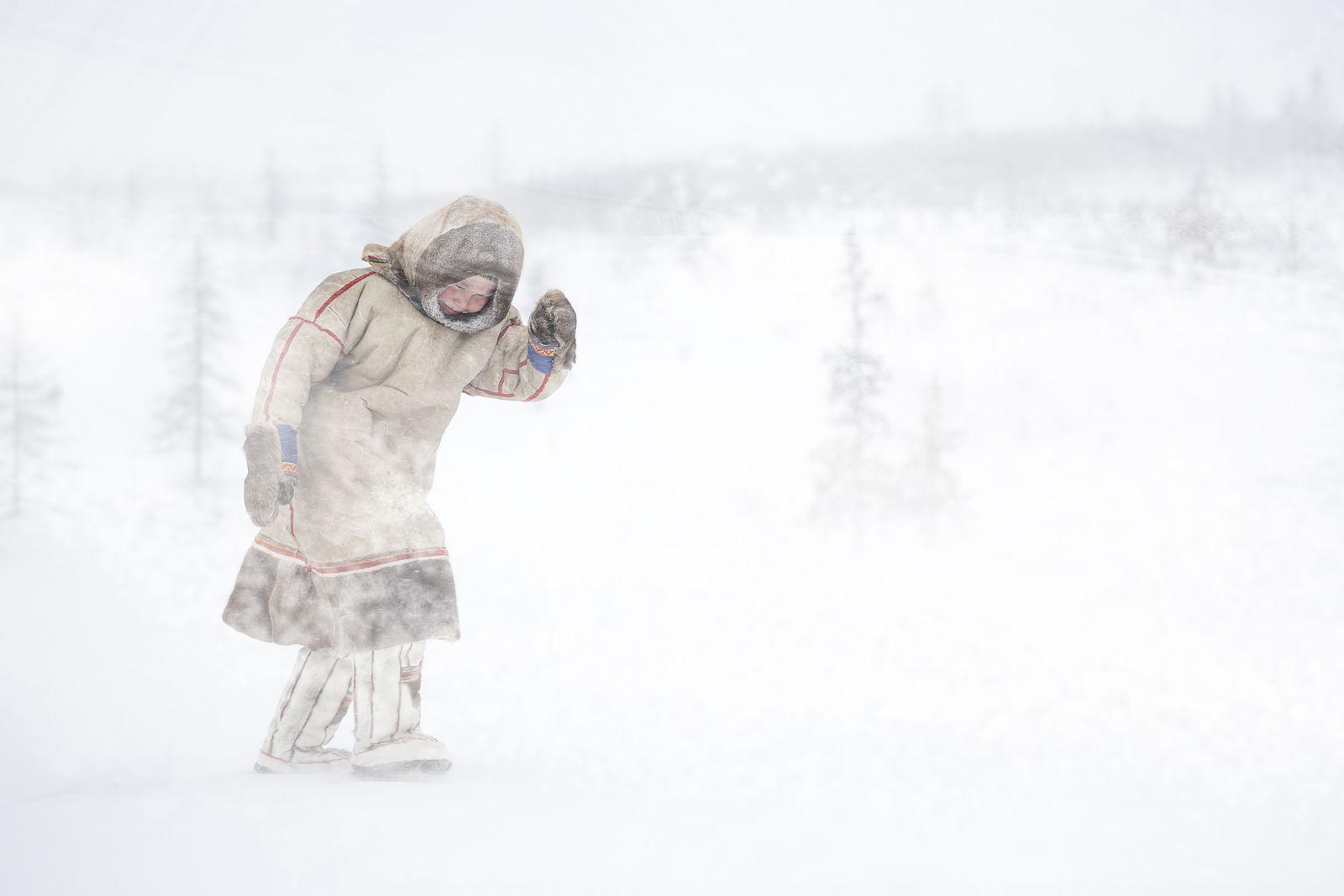 Пурга, © Владимир Алексеев, Финалист фотоконкурса «Самая красивая страна – 2018»