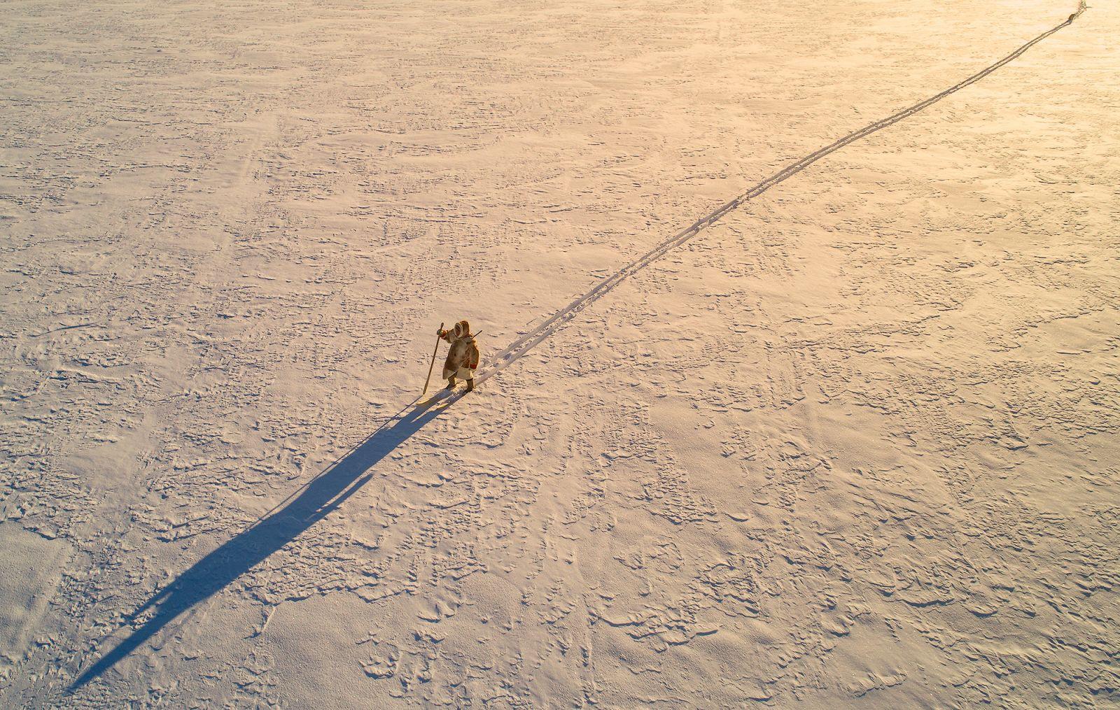Охотник, © Владимир Кушнарев, Место съемки: Ямал, Россия, Номинация «Коренные и малочисленные народы России», Фотоконкурс «Самая красивая страна»