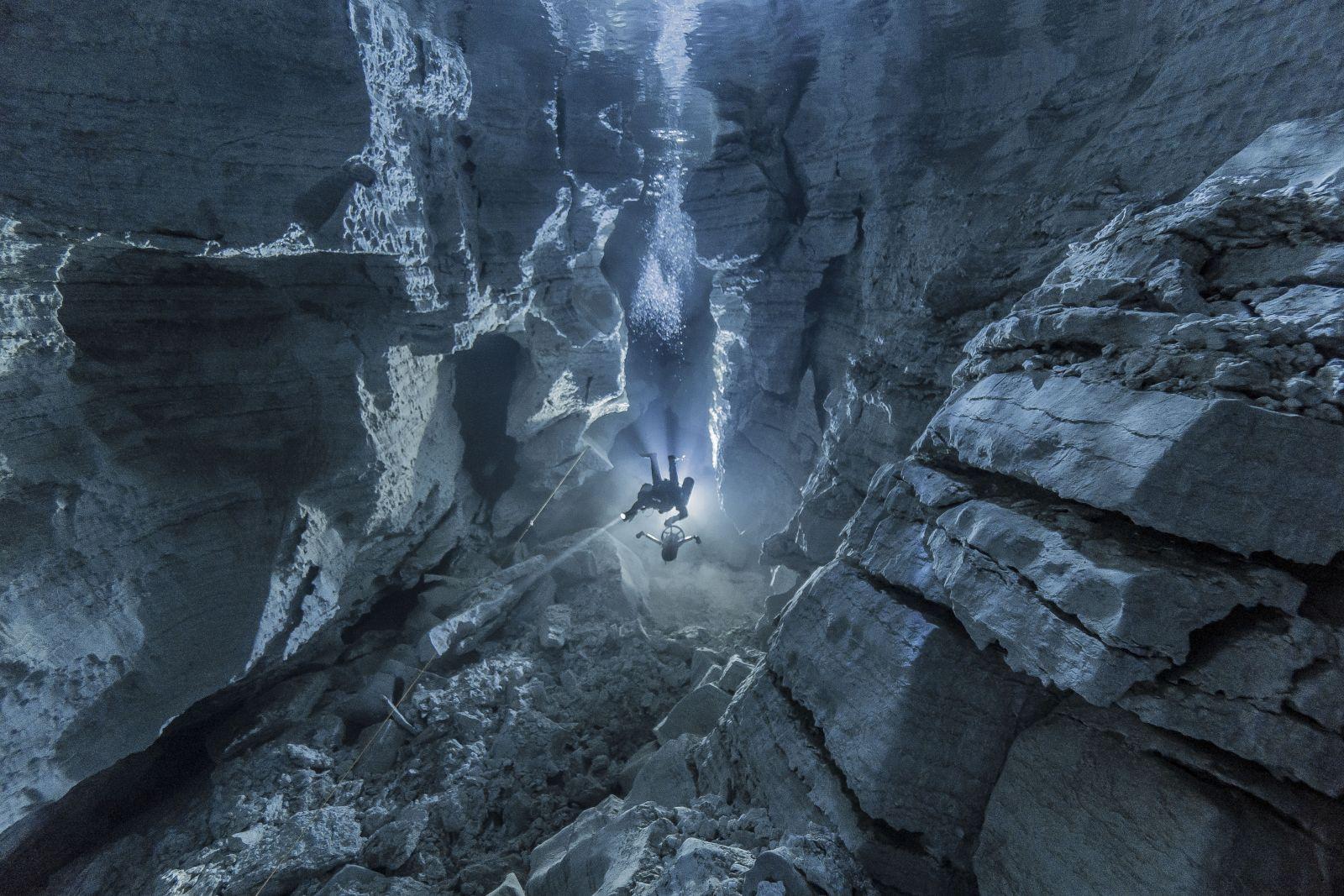 Ординская пещера, © Андрей Горбунов, Место съемки: Ординская пещера, Майская галерея, Номинация «Пещеры», Фотоконкурс «Самая красивая страна»