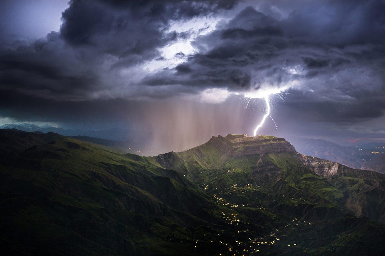 Гроза над Гунибом, © Рустам Рамазанов