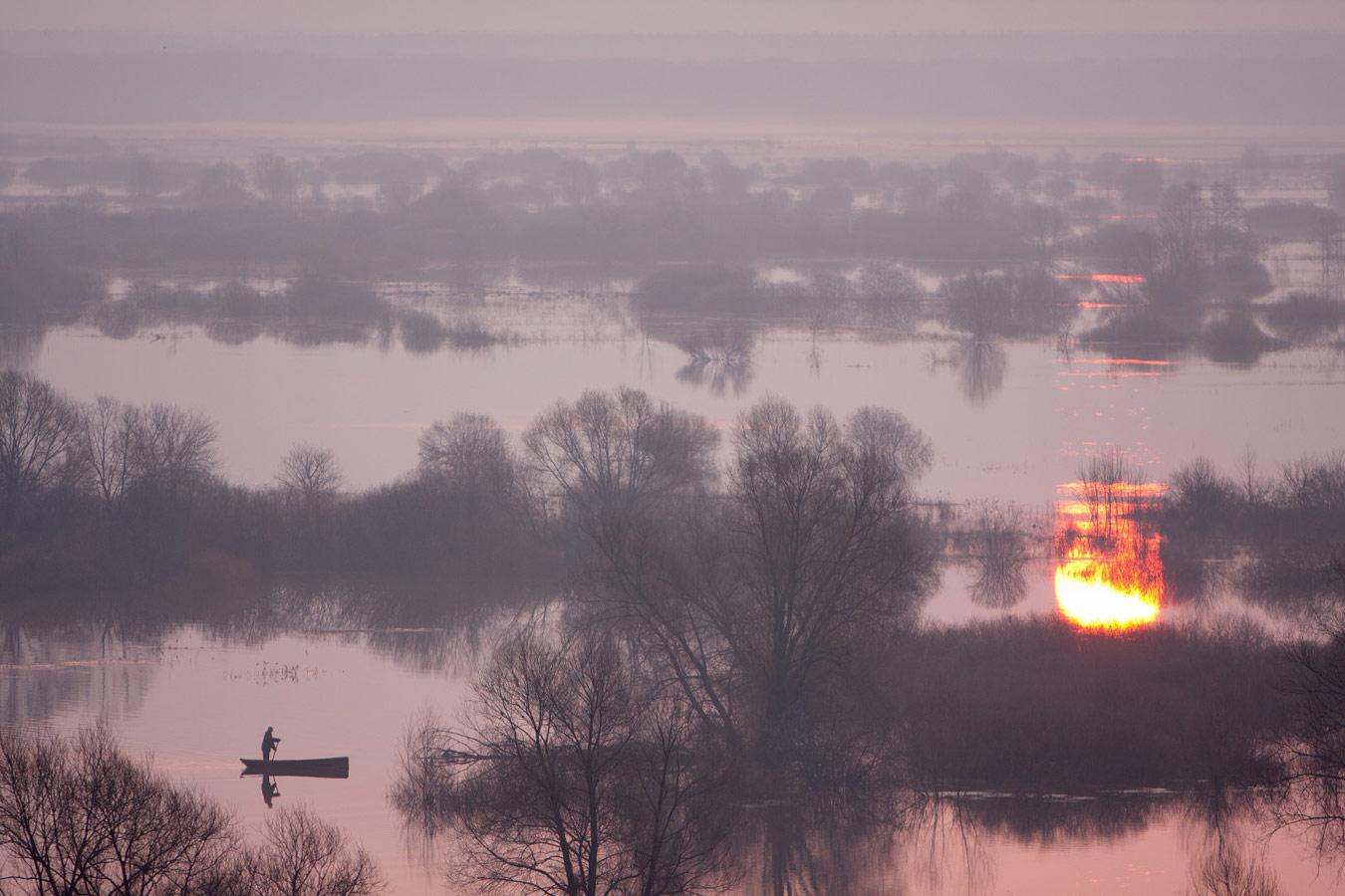 Рассвет на реке Воронеж, © Юрий Сорокин